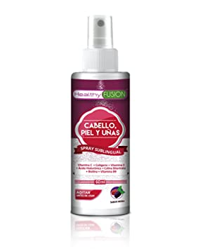 EVIOX – Potente Biotina + Colágeno + Ácido Hialurónico + Colina Bitartrato + Vitaminas E,