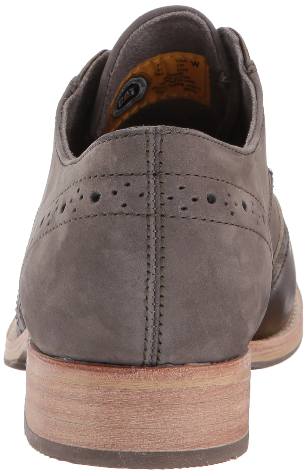 Caterpillar Women's Reegan II Lace up Leather Oxford, Olive, 5.5 Medium US by Caterpillar (Image #2)
