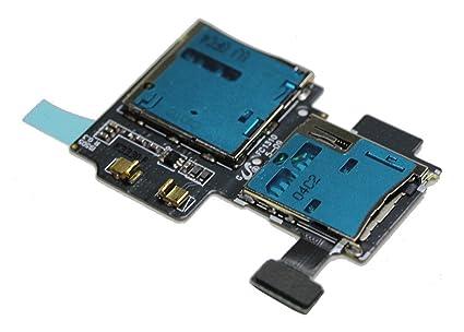 Repuesto Flex Lector Tarjeta Sim y Micro SD para Samsung Galaxy S4 I9500 I9505