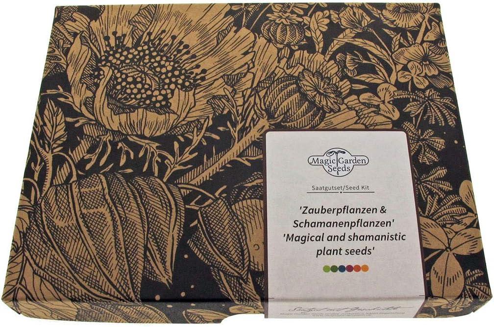 Plantas mágicas y chamánicas - set de semillas regalo con 5 variedades etnobotánicas