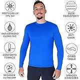 Camisa Proteção Solar Verão Uv 50+ Masculina Praia Piscina Lazer Esportes
