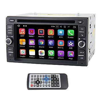 QSICISL Android 7.1 Quad Core 16GB Auto Radio 6.2 Inch 2 DIN Universal Car DVD GPS