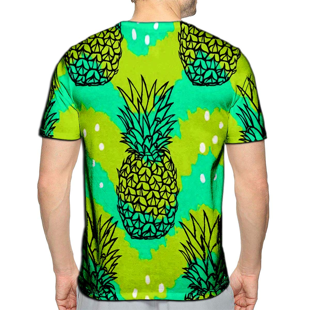3D Printed T-Shirts Tropical Golden Sun Hibiscus Flowers Short Sleeve Tops Tees