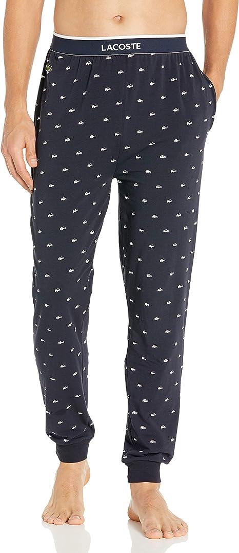 Lacoste Signature Croc - Pantalón de chándal para Hombre - Azul ...
