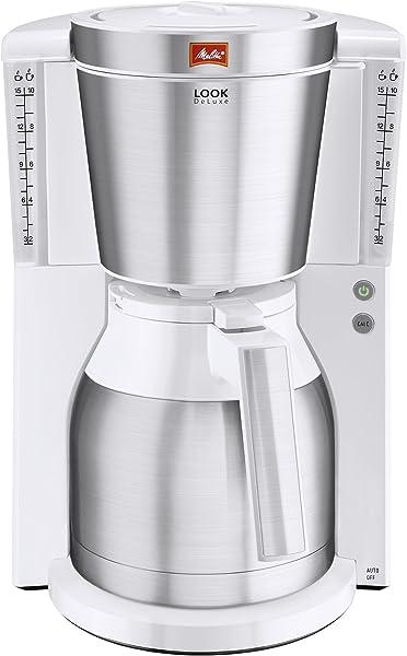 Melitta Look Cafétera de Goteo, 1000 W, 1.25 litros ...