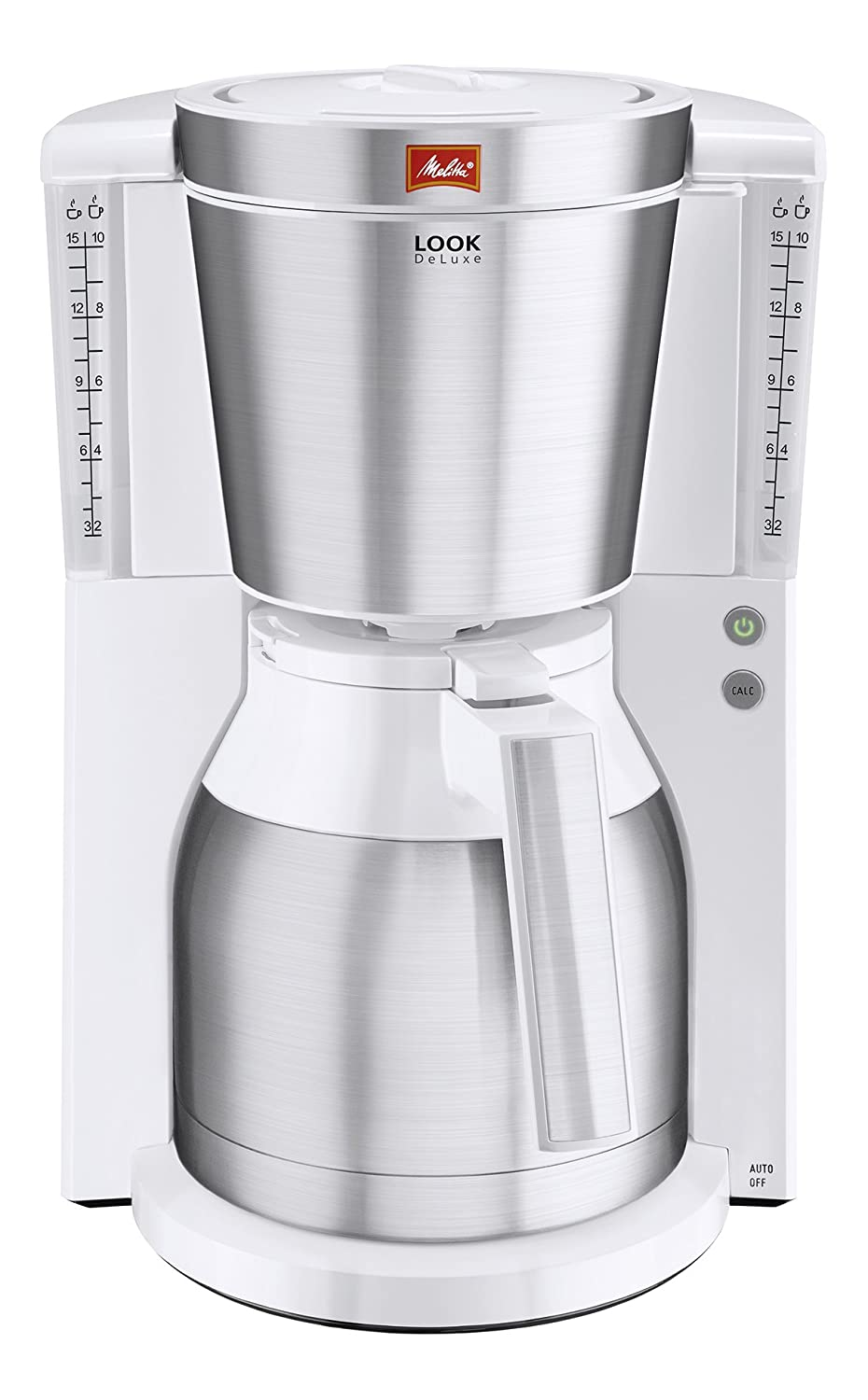 Melitta Look IV, 1011-02, Filter Coffee Machine with Glass Jug, Aroma Selector, Black 6708061