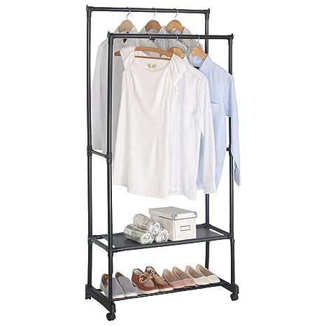 Amazon.com: Woltu resistente ropa perchero: Home & Kitchen