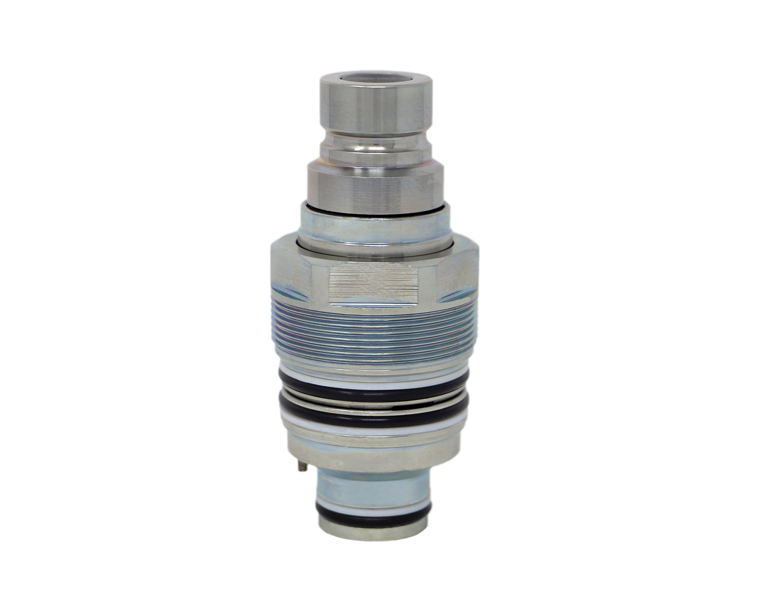 TL61 FFI Cartridge Male Coupler 1/2 Body Dash 12 Flat Face ISO 16028 Coupling for 4BD4FI Manifold Bobcat Skid Steer