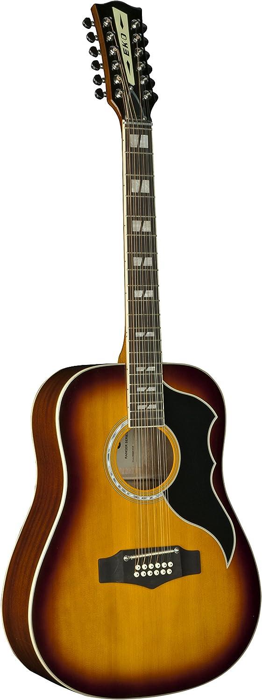 Guitarra acustica Eko guitarras Ranger XII VR Honay burst EQ