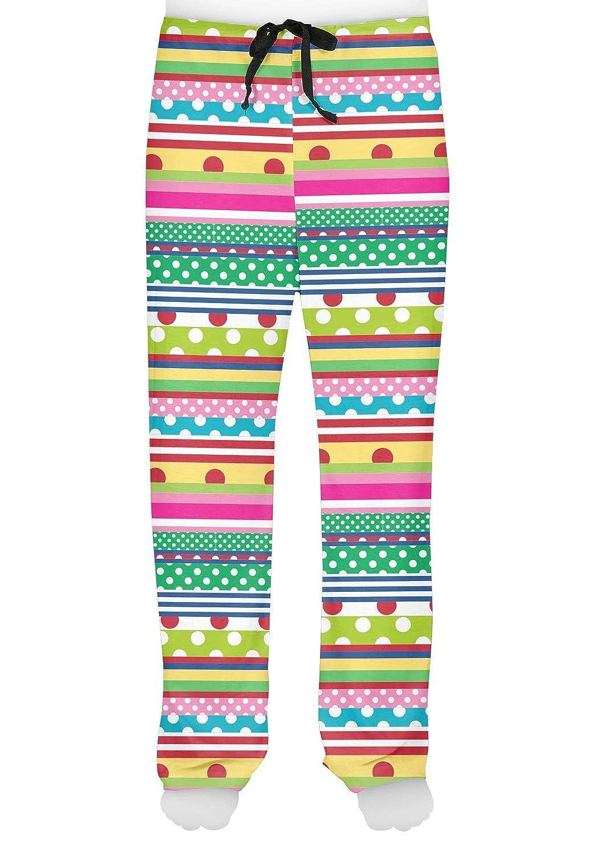 RNK Shops Ribbons Mens Pajama Pants XS Personalized