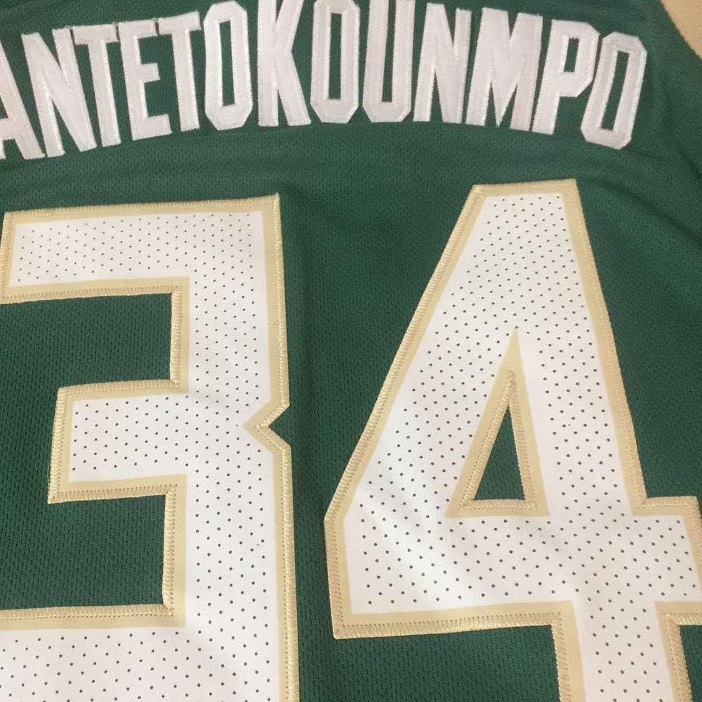 Giannis #34 Milwaukee Basketball Jersey Youth//Kids