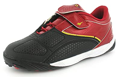 4dcf1267a961 Childrens Boys Red Gola Astro Turf Trainers - Red/Black/Yellow - UK SIZE