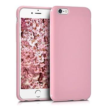kwmobile Apple iPhone 6 / 6S Hülle - Handyhülle für Apple iPhone 6 / 6S - Handy Case in Altrosa matt