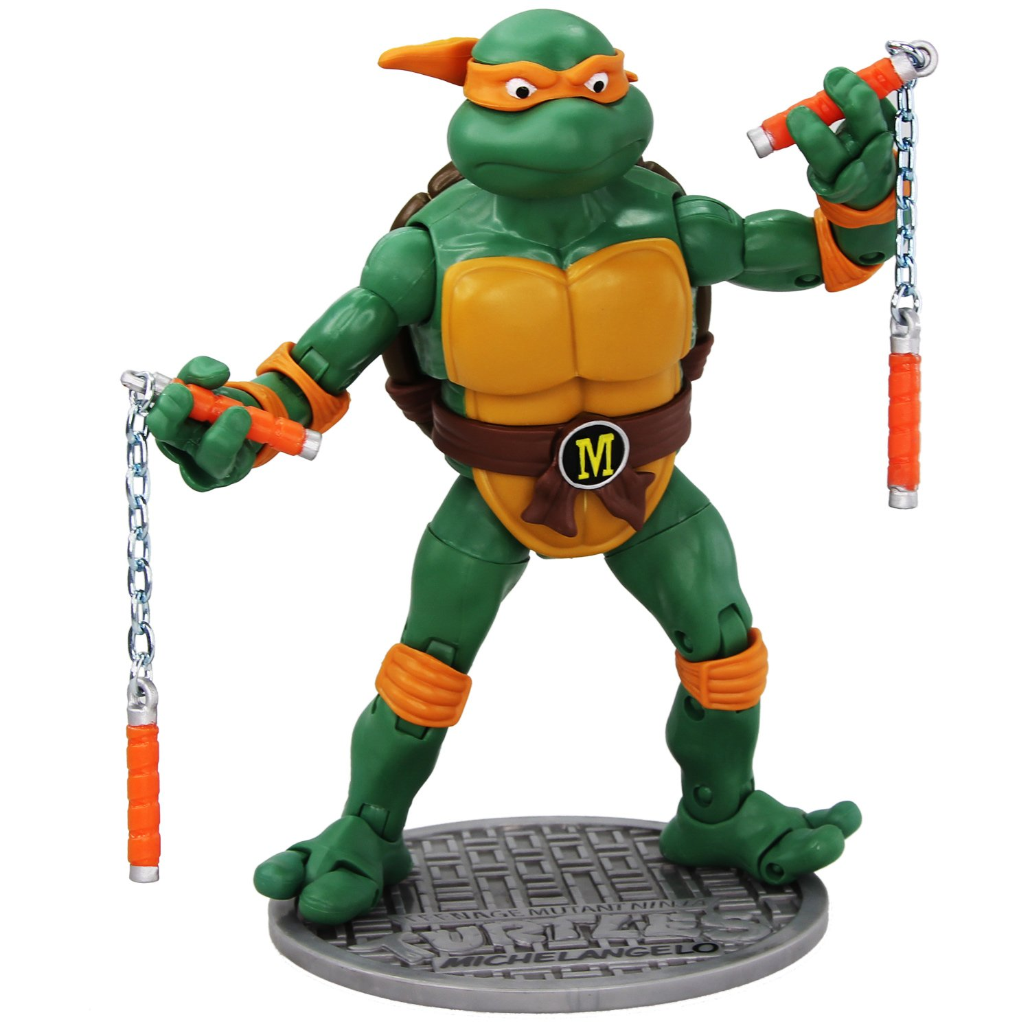 Teenage Mutant Ninja Turtles Classic Michelangelo Actionfigur (15 cm)