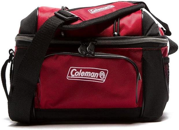 Coleman 5.8L Soft Cooler Camping Cocina Comer Rojo, Rojo ...