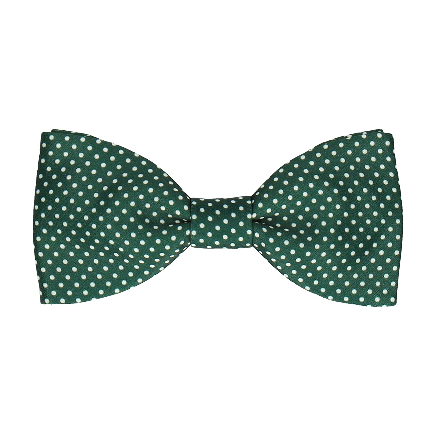 Men's 1920s Style Ties, Neck Ties & Bowties Mrs Bow Tie Bow Tie with Pin Dots Pre-Tied Self-Tying Bow Ties $40.00 AT vintagedancer.com