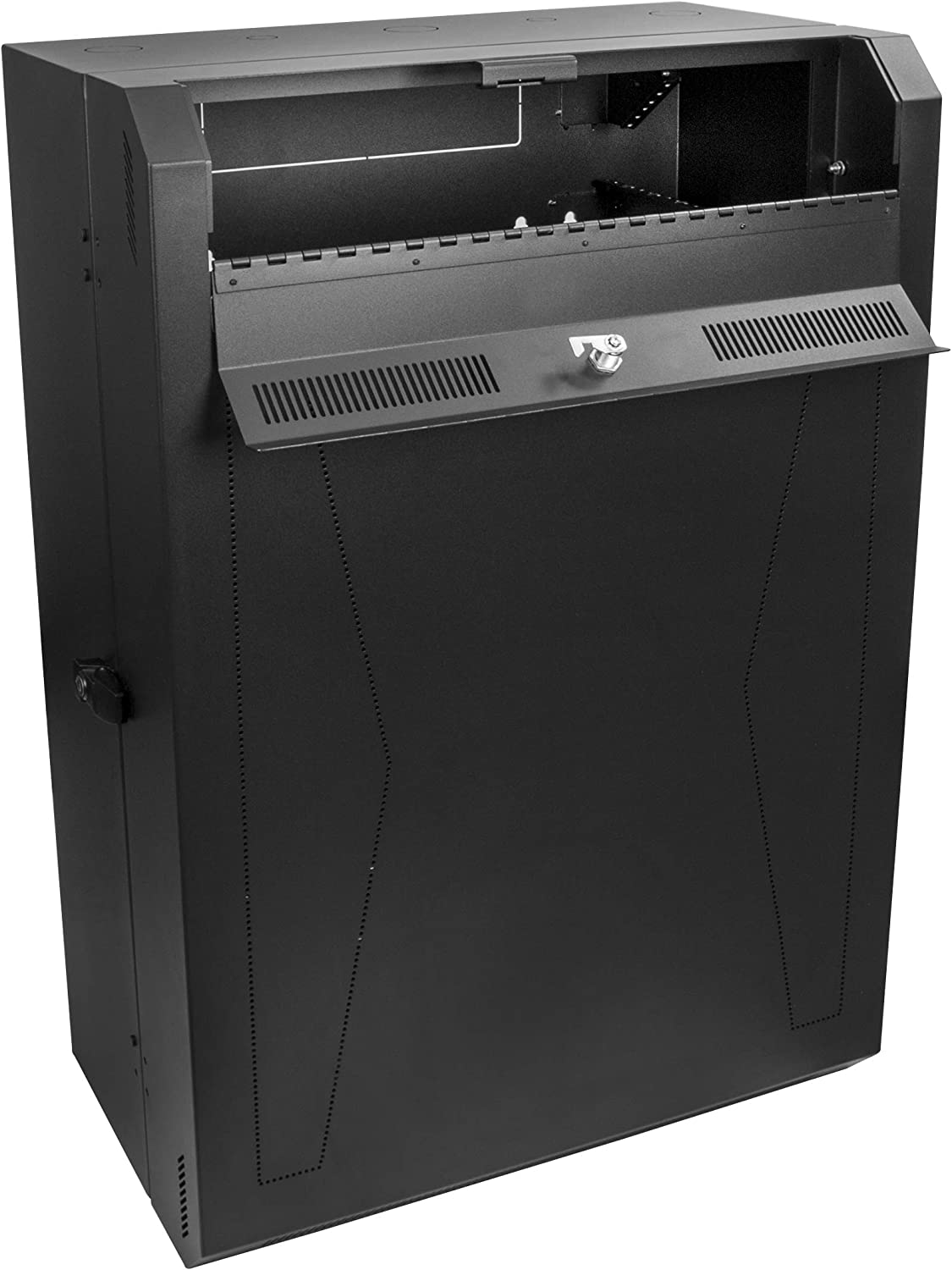StarTech.com RK619WALLV 6U 19-Inch Steel Vertical Rack and Wall Mountable Server