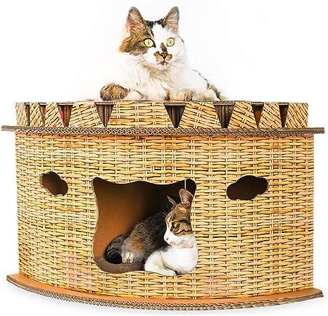 LCDYMarco De Escalada para Gatos, Arena para Gatos En La ...