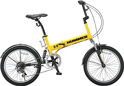 Hummer 20 Inches Shimano 6-speed Folding Bike Fdb206 W-sus