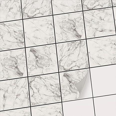 Piastrelle PVC adesivi per decorazione bagno | Adesivo sticker ...