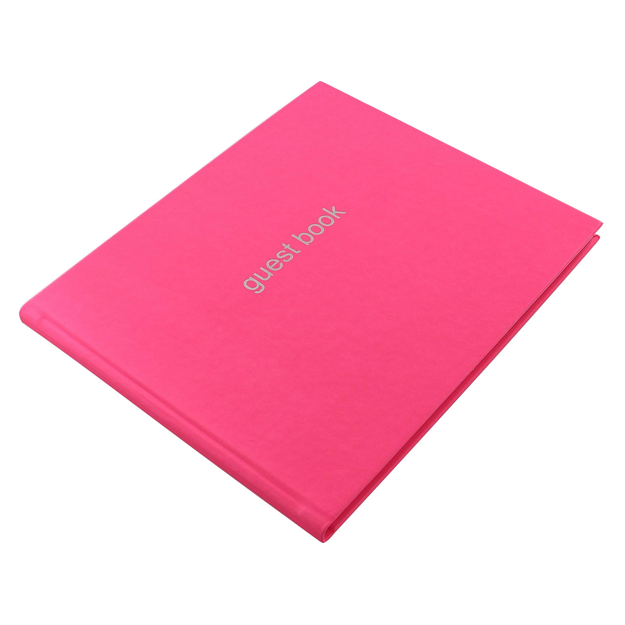Letts 090015P Dazzle Quarto Landscape Guest Book - Pink by Letts (Image #2)