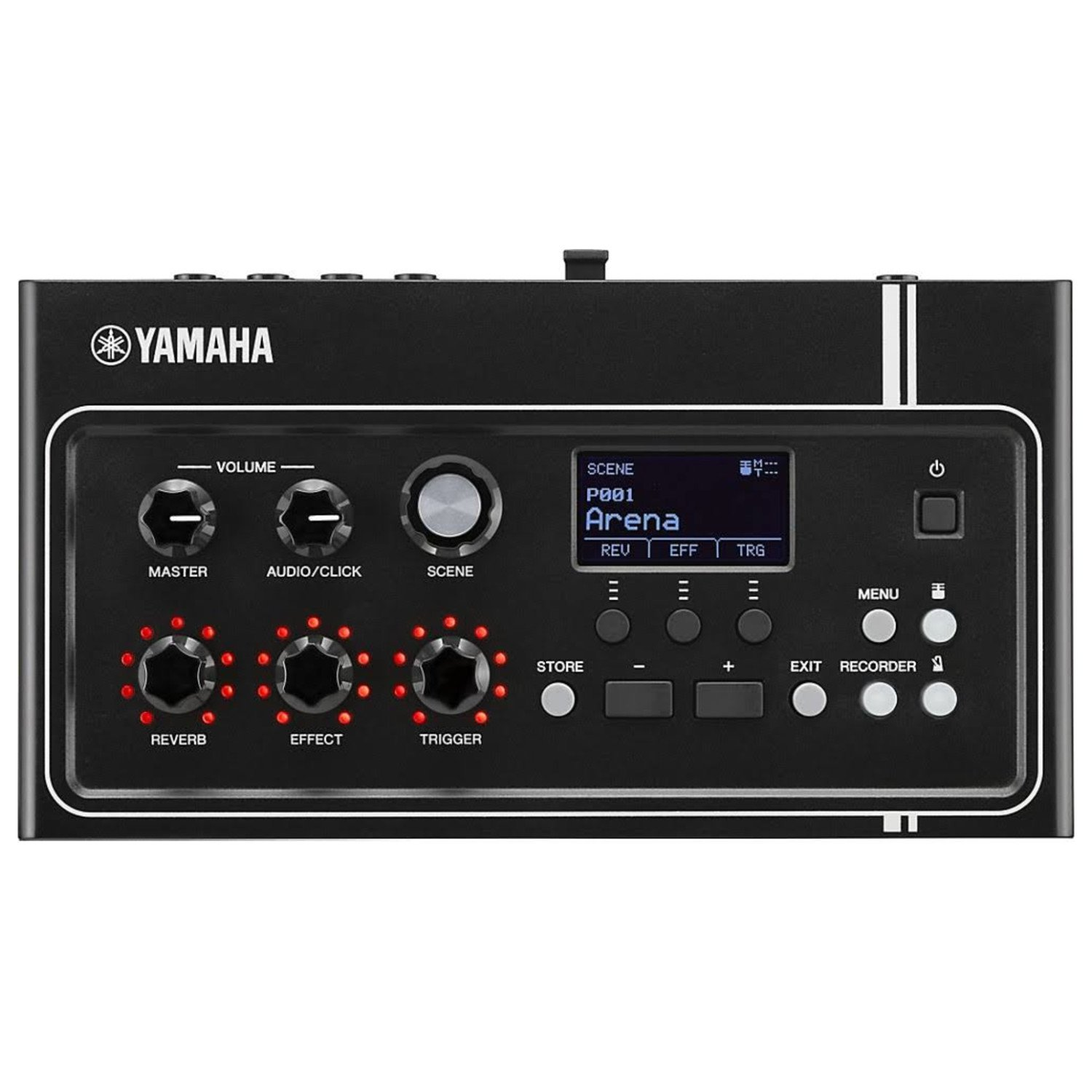 Yamaha EAD10 Electronic Acoustic Drum Module (Included Mic with Trigger Pickup & Power Supply) Bundle with Zorro Sounds Drum Polish Cloth, 2 x Instrument Cables & Headphones Best Drum Module Bundle by Yamaha (Image #4)