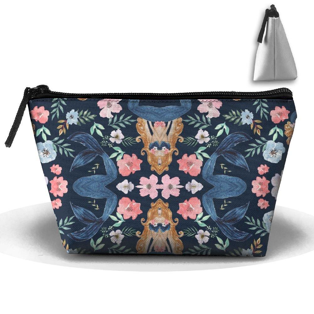 7d1dd977ce71 Mermaid Flowers Cosmetic Bag