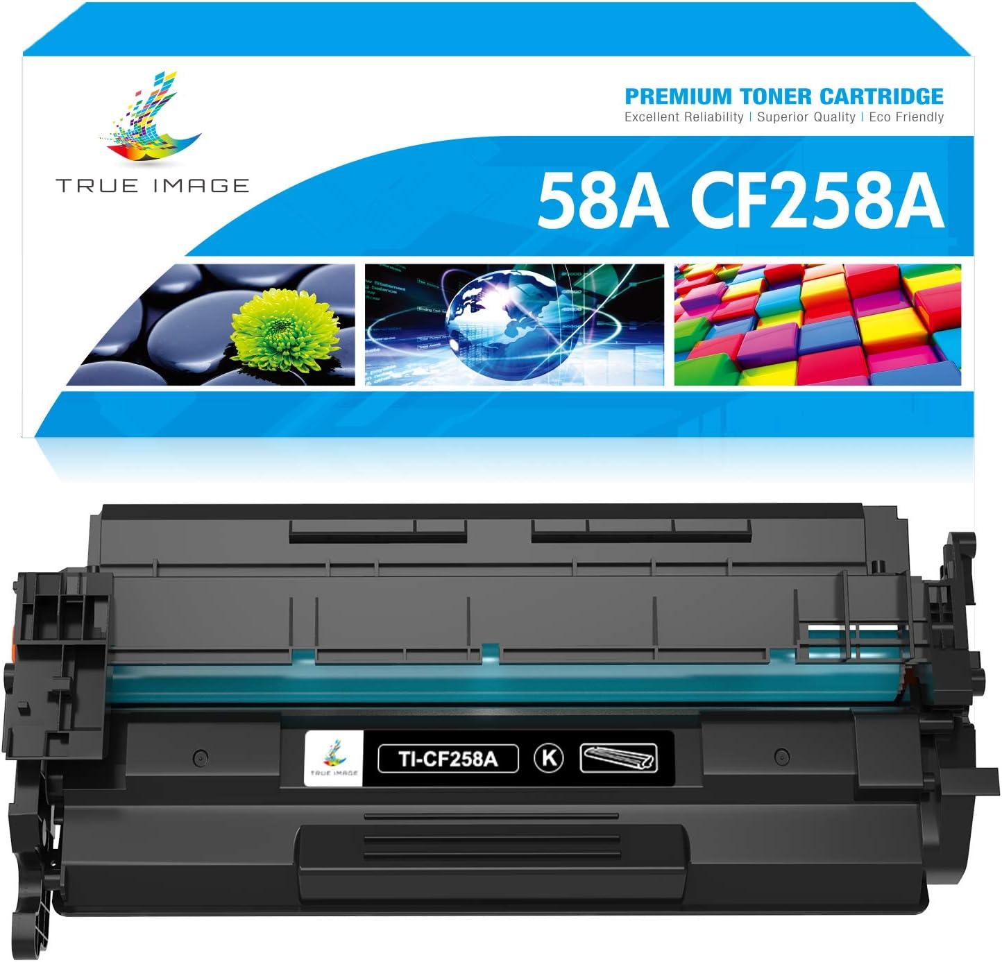 True Image Compatible Toner Cartridge Replacement for HP 58A CF258A CF258X 58X HP Laserjet Pro MFP M428fdw M404dn M404n M404dw M428fdn M428dw M404 M428 Printer Ink (Black, 1-Pack)