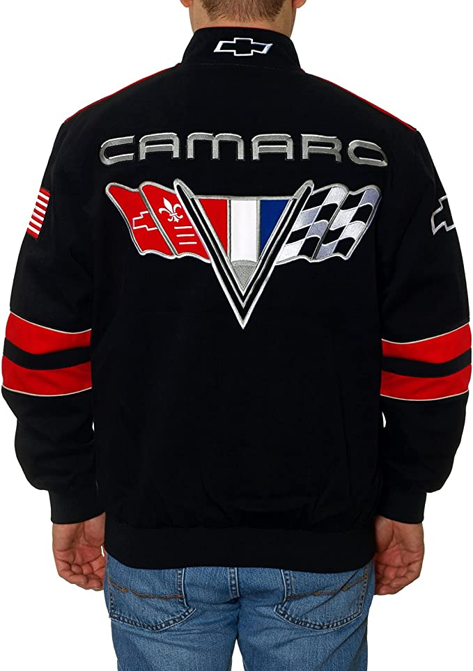 CHEVROLET CAMARO Z//28 EMBROIDERED 3 SEASONS JACKETS BY GM