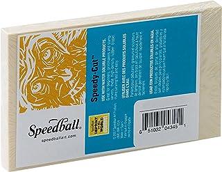 Speedball Speedy-Cut Block, 2.75 X 4.5 inches, White (004345)