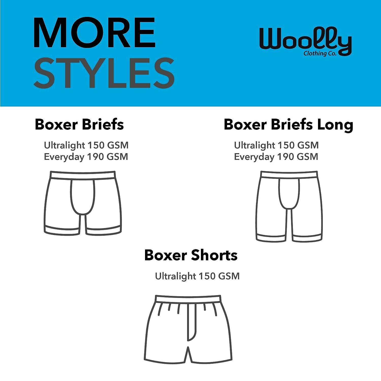247c60165b4eff Woolly Clothing Co. Men's Merino Wool Boxer Brief: Amazon.co.uk: Clothing
