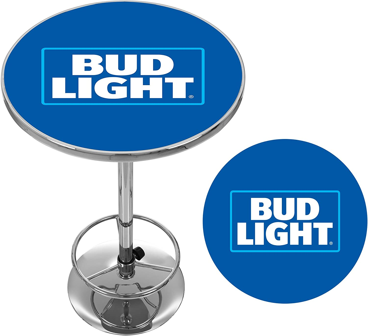 Bud Light Chrome Pub Table