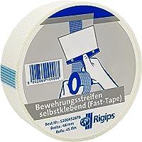 Rigips® Weefseltape glasvezel zelfklevend 48 mm x 45 m rol, wapeningsstroken Fast-Tape, voegenband, voegendekstrip voor…