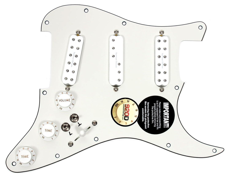 Seymour Duncan Sjbj Sdbr Sl59 Loaded Pickguard Adding Wiring Diagram Humbucker Strat Everything Axe W 2 Toggles Musical Instruments
