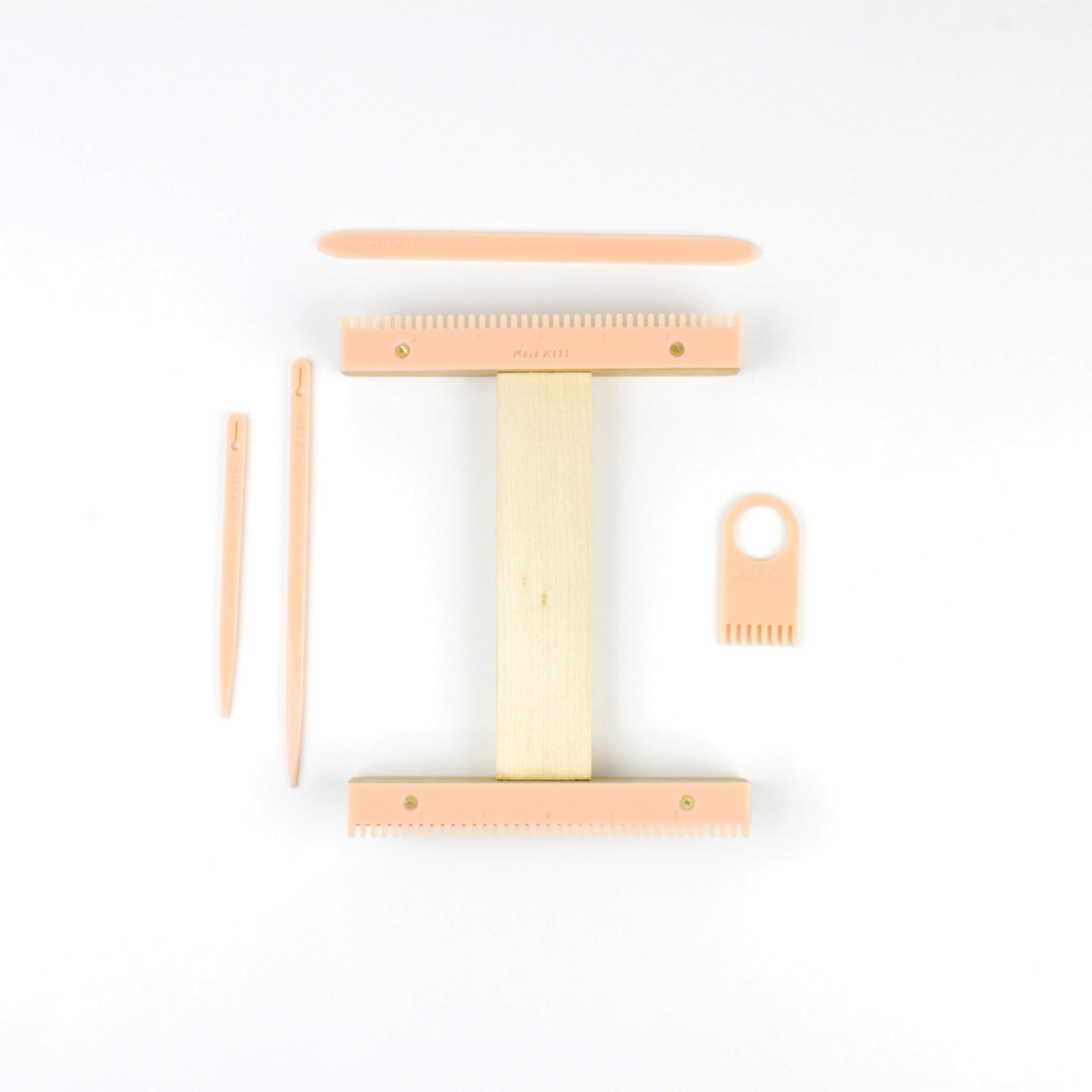 Weaving Loom Kit by One-OneThousand. I Loom Kit, Weaving Loom, Weaving Supplies, Learn to Weave, Peachy Pink