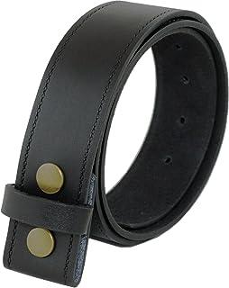 3a4c22ba5bd7 Ossi Ashford Ridge Cuir véritable 40mm Appuyez sur goujon enfichable  ceinture - noir ou marron