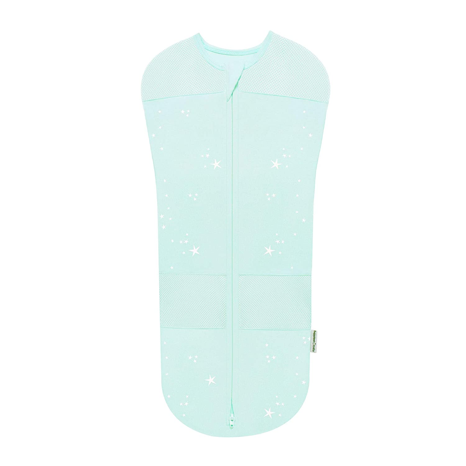 Ivory Planets, Medium Happiest Baby Sleepea Swaddle for The Best Sleep Hip Safe Doctor Designed 5-Second Swaddle Baby Doesn/'t Get Upset by Accidentally Rubbing Hands on Face