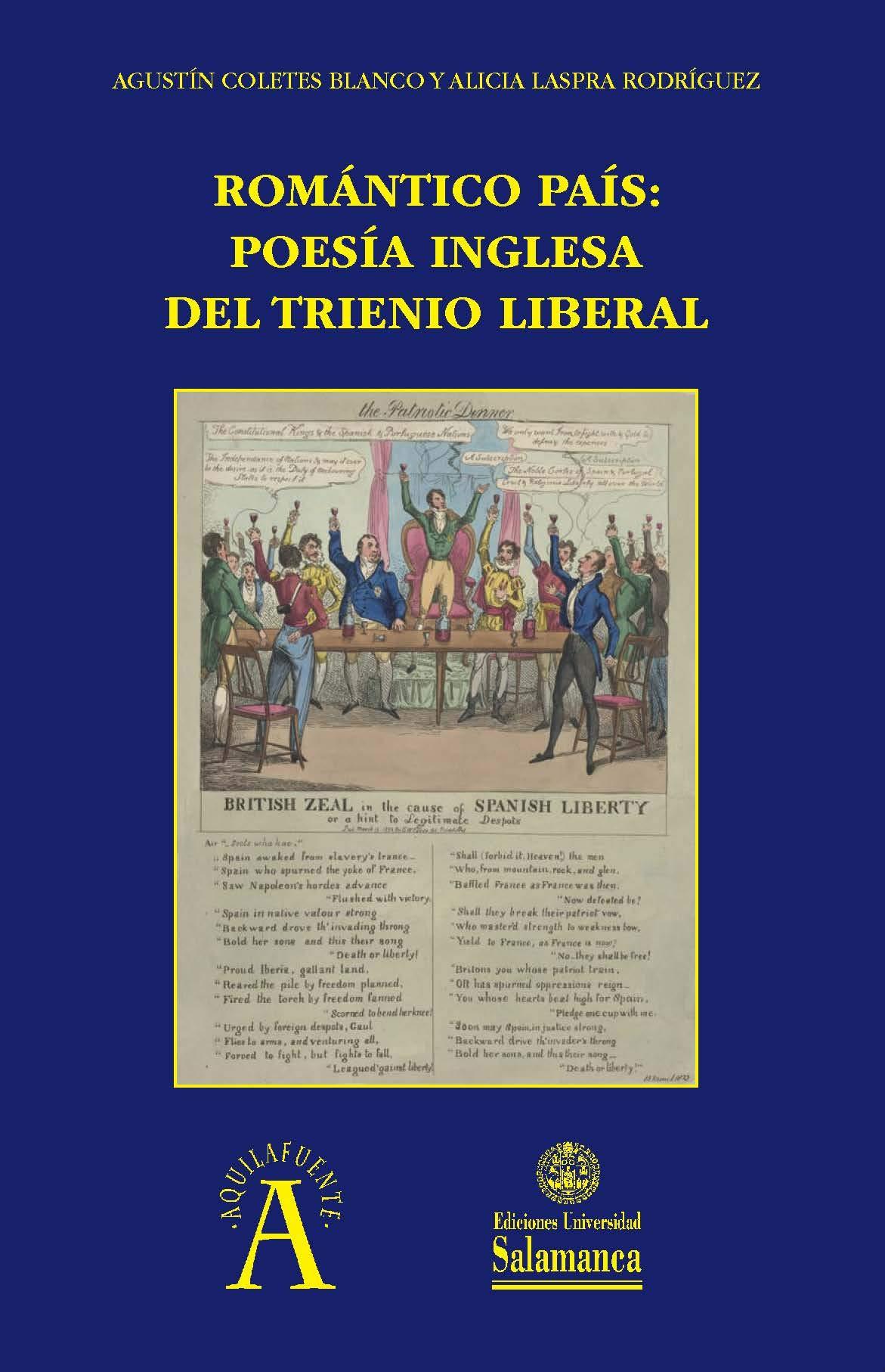 romántico País: Poesía Inglesa Del Trienio Liberal: 277 ...