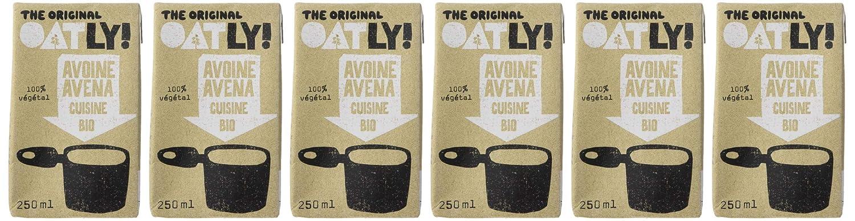 Oatly - Crema líquida con avena ecológica - 250 ml - [pack ...