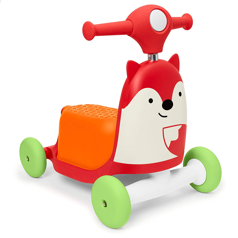 Skip Hop Zoo juguete 3 en 1 para montar en bicicleta, zorro ...