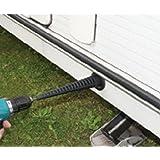 caravan Corner steady jack winder electric drill attachement adapter + screw peg