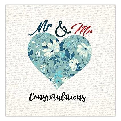 Mr y de tarjeta de Mr día de vuestra boda, Gay regalo de ...