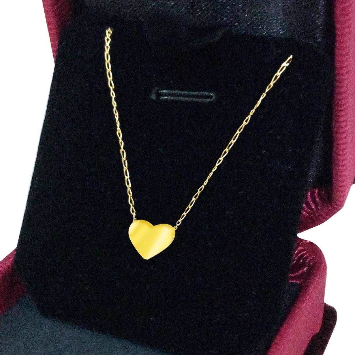 18k Gold Necklace Shaped Heart Price In Saudi Arabia Amazon Saudi Arabia Kanbkam
