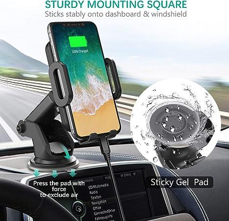 JOOMFEEN - Soporte para Smartphone de Coche [360 Grados de ...