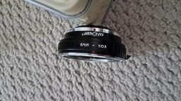 Camera adapter  Canon eos ef lens for olimpus omd m-1 mark ll body.