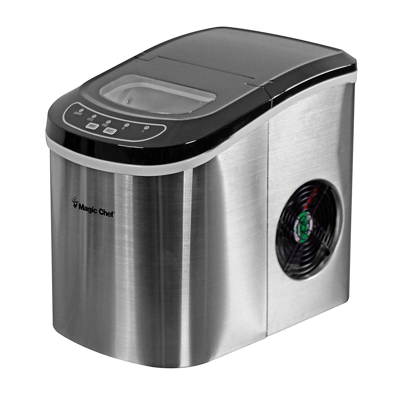 Magic Chef 27-Lb. HNIM27ST / Countertop Ice Maker