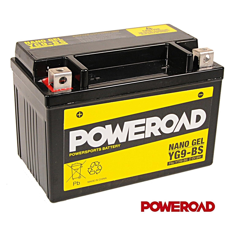 YTX9-BS 1-027 inkl.7,50 Pfand KAW YG9-BS 12V Gel Batterie 9Ah