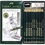 Faber Castell Graphic 9000 Drawing Set with Free Eraser & shapener