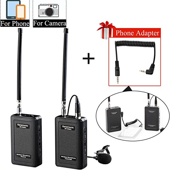 Wireless Lavalier Microphone fo iPhone 11 X 8 8 Plus 7 7 Plus 6 6s