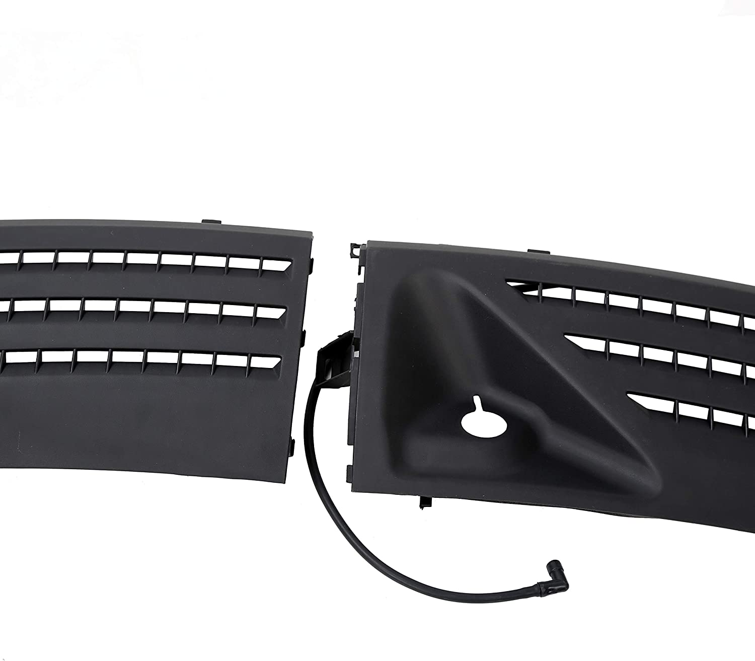 ECOTRIC Outer Windshield Window Front Wiper Cowl Cover Panel Right Left Compatible with F150 2004-2008
